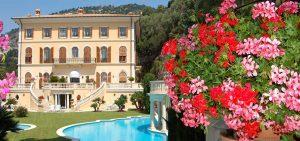 Louer bus privé Villa Schiffanoia