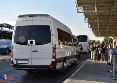 transfert bus minibus aeroport cannes nice